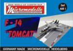 AIR 1 F-14 Tomcat Micromodelle Heidelberg