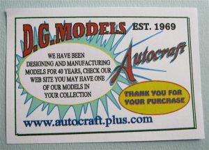 Autocraft - D.G.Models