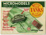 D1 Tanks Modelcraft