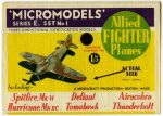 E1 Allied Fighter Planes Modelcraft