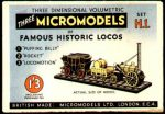 H 1 Famous Historic Locos Micromodels