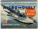 H1 Flying Boats Modelcraft