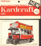 London Bus Kardcraft