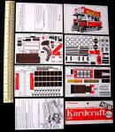 London Bus cards Kardcraft