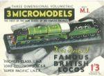 M I Famous British Locos Micromodels