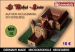 MM 10 St. Michael - Kloster Heidelberg Micromodelle Heidelberg
