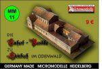 MM 11 Einhard Basilika Steinbach Micromodelle Heidelberg