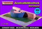 MM 12 Zentralbibliothek Dortmund Micromodelle Heidelberg