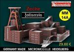 MM 14A Zeche Zollverein Micromodelle Heidelberg