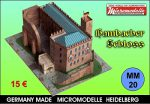MM 20 Hambacher Schloss Micromodelle Heidelberg