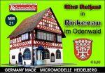 MM 21 Altes Rathaus Birkenau Micromodelle Heidelberg