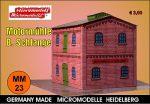 MM 23 Motormühle B. Schlange Micromodelle Heidelberg