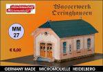 MM 27 Wasserwerk Oeringhausen Micromodelle Heidelberg