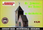 MM 28 St. Johannes der Täufer Heidelberg Micromodelle Heidelberg