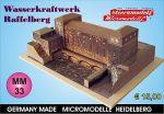 MM 33 Wasserwerk Raffelberg Micromodelle Heidelberg