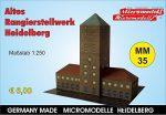 MM 35 Altes Rangierstellwerk Heidelberg Micromodelle Heidelberg