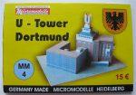 MM 4 U-Tower Dortmund Micromodelle Heidelberg