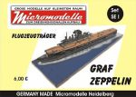 SE 1 Flugzeugträger Graf Zeppelin Micromodelle Heidelberg