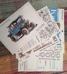 Steam Tractor cards Kardcraft