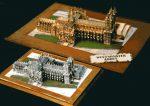 Westminster Abbey x2 x4 Magnus Models built by Stuart Fraser