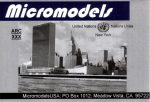 ARC XXX United Nations Building MicromodelsUSA