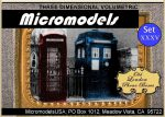 ARC XXXV Old London Phone Boxes MicromodelsUSA