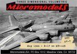 AV 7 Boeing B-17 & Messerschmidt ME-163 MicromodelsUSA