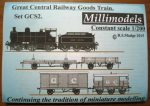 GCS2 Great Central Railway Goods Train Millimodels