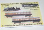 LYS2 Lancashire & Yorkshire Railways Passengers Train Millimodels