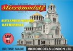 MM 03 Alexander Newski Kathedrale Micromodels London
