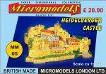 MM 05 Heidelberger Castle Micromodels London