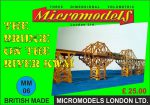 MM 06 Bridge over the River Kwai Micromodels London
