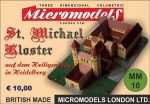 MM 10 St. Michael Kloster Micromodels London