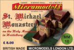 MM 10 St. Michael Monastery Heidelberg Micromodels London