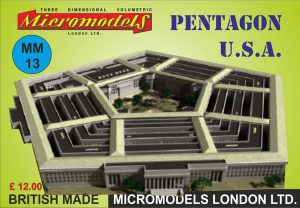 MM 13 Pentagon USA Micromodels London