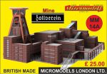 MM 14a Mine Zollverein Micromodels London