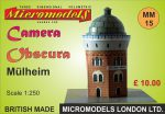 MM 15 Camera Obscura Mülheim Micromodels London