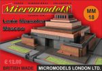MM 18 Lenin Mausoleum Moscow Micromodels London