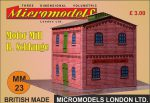 MM 23 Motor Mill B. Schlange Micromodels London