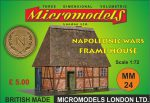 MM 24 Napoleonic Wars Frame House Micromodels London