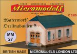 MM 27 Waterworks Derlinghausen Micromodels London