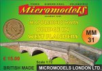 MM 31 Napoleonic Wars Bridge in West Flanders Micromodels London