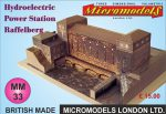 MM 33 Hydroelectric Powerstation Raffelberg Micromodels London