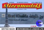 MM 34 Burj Khalifa Micromodels London