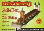 MM 36 Old Bridge Heidelberg Micromodels London