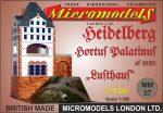MM 37 Hortus Palatinus Lusthaus Heidelberg Micromodels London