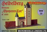 MM 38 Speyerer Tor Heidelberg Micromodels London