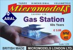 MM 40 Gas Station Micromodels London