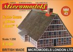 MM 43 Frame House Altes Land Micromodels London