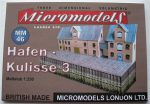 MM 46 Hafen Kulisse 3 Micromodels London